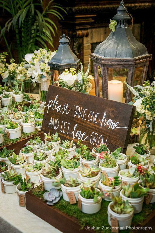 Idée de cadeau invités mariage eco-responsable Twist n'Chic Events